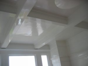 High Gloss Paint Ceiling