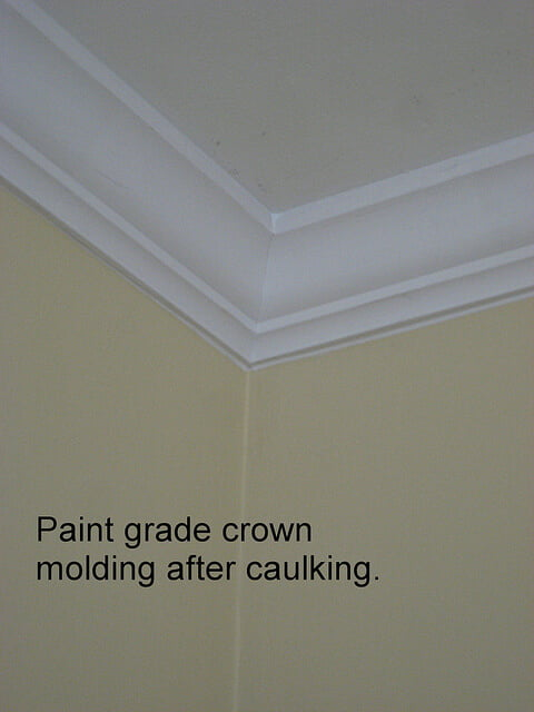 How To Paint Crown Molding Three
