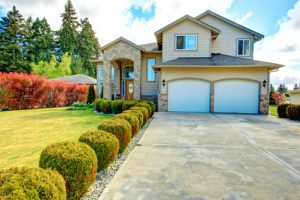 Curb appeal is important for selling homes and also for welcoming yourself back home.