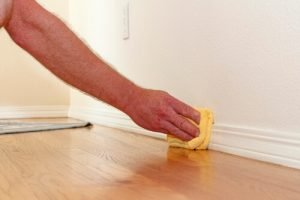 Use non-abrasive tools to clean walls and trim without damaging paint.