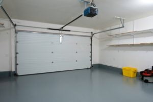 Painting the walls and sealing the floor of your garage makes the space more versatile.