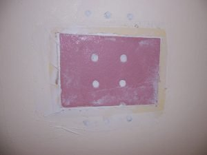 How to patch a hole in the drywall