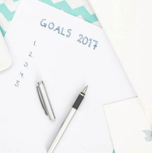Projects, goals and resolutions for home owners.