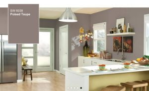 Poised Taupe is the Sherwin Williams Color of the Year for 2017.