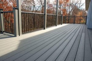 Grey decks are becoming popular in Atlanta area homes.