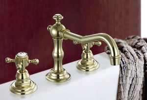 Older faucets that work well can be refinished instead of replaced.