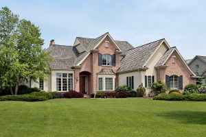 Landscaping should compliment a homes colors and shape.