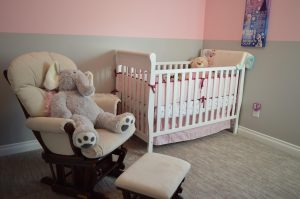 Using light or neutral colors in a baby's room can make it easier to transition as your child ages.