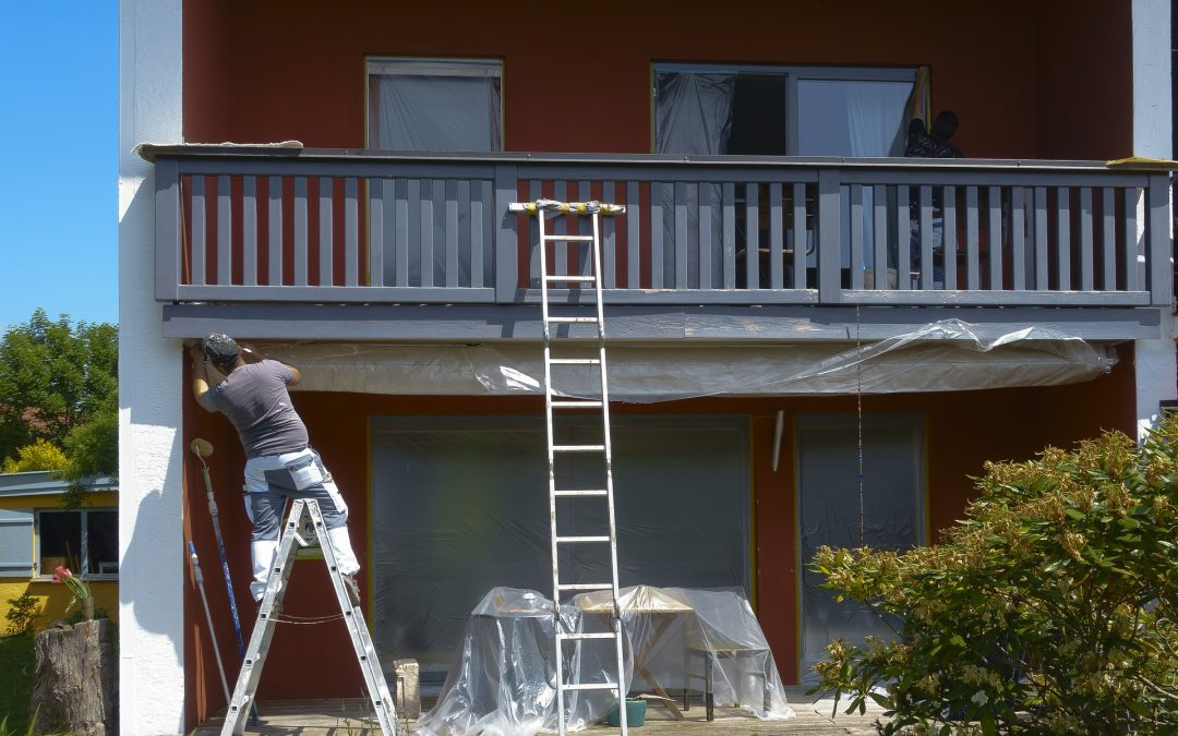 How To Prepare for Your Professional Exterior Paint Service